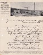 SV BS BASEL 1901-1-16 PASSAVANT-ISELIN & CO Ziegelfabrik - Switzerland