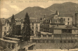 LOURDES VILLA SAINTE ROSE ET HOTEL SAINT HUBERT - Lourdes
