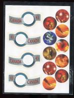 Canada **  - 1350 à 1351 - Timbres De Souhaits  . Prix 2,00€ + Pot - Blocks & Sheetlets