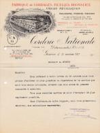 SV GE GENEVE 1917-10-17 Delacroixriche & Cie Fabrique De Cordages Ficelles Corderie Nationale - Suisse