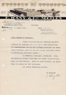 SV ZH MEILEN 1929-8-5 E. HÄNY Maschinen & Pumpenfabrik - Suisse