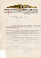 SV ZH ZÜRICH 1934-11-11 Fabrique De Coffres-Forts - Suisse