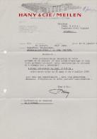 SV ZH MEILEN 1954-7-21 E. HÄNY & Cie Ateliers De Construction - Suisse