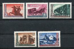 Serbien Nr. 94-98 Postfrisch - Occupation 1938-45