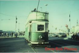 Tram Photo Blackpool Corporation Tramways Engineering Car 7 Standard Tramcar - Trains