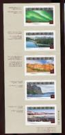 Canada **   N° 1937 à 1941 - Attractions Touristiques   - Feuillet  - - Blocs-feuillets