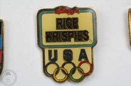 Kellogg´s Rice Krispies - Olympic Games Sponsor - Advertising Pin Badge  #PLS - Juegos Olímpicos