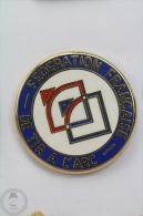 Federation Française De Tir A L´Arc/  French Federation Of Archery - Arthus Bertrand Pin Badge  #PLS - Archery