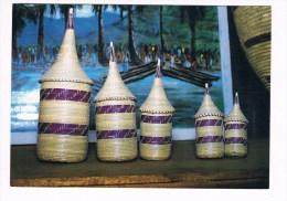 22641 ( 2 Scans ) Burundi Vannerie Decorative - Burundi