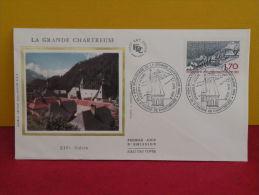 FDC- La Grande Chartreuse - 38 St Pierre De Chartreuse - 7.7.1984 - 1er Jour, - 1980-1989