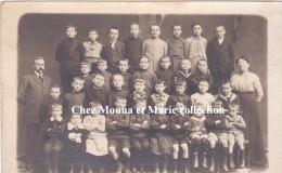 CPA PHOTO DE CLASSE PHOTOGRAPHE CALUIRE RHONE 619 - Schools