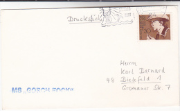 1975 SAILING SHIP ´ GORCH FOCK  COVER ´ In MERMAID Pic SLOGAN Pmk GERMANY Stamps - Mythology