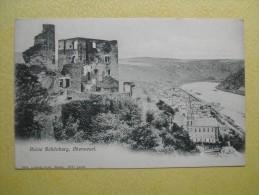 OBERWESEL. Le Château De Schönburg. - Oberwesel