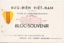 Blocs Souvenir 1952 Carnet Comprenant 5 Epreuves N.D. N°4/8 Surement Rare!!! - Viêt-Nam