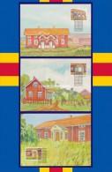 ALAND 1998 VERANDAS OFFICIAL MAXICARDS 1st. DAY CANCEL  Nos. 24-26 - Aland