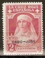CABO JUBY EDIFIL 27** MNH SIN FIJASELLOS VALOR CLAVE - Cabo Juby