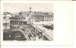 Pal068/ Jaffa, Marktplatz, Ca. 1900 - Palästina
