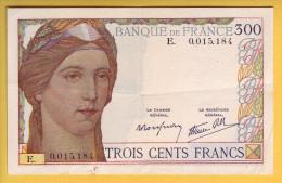 BILLET FRANCAIS - 300 Francs 1938 TTB+ - 1871-1952 Antiguos Francos Circulantes En El XX Siglo