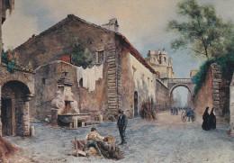 Ph-CPM Italie Ettore Roesler Franz (Lazio) Série Roma Sparita, Via Giulia Fontana Del Mascherone - Roma (Rome)