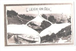 ESSEX LEIGH ON SEA MULTIVIEW POSTCARD Nr Southend ESSEX UNUSED - Southend, Westcliff & Leigh
