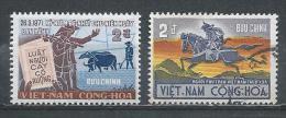 South Vietnam. Scott # 389,92,411a,25  MNH & Used. Commemorative Stamps. 1971-72 - Vietnam