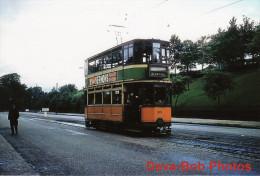 Tram Photo Glasgow Corporation Tramways Standard Hex Dash Tramcar Car 1115 - Trains