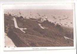 RP ESSEX LEIGH ON SEA The CLIFFS  L1070  Nr Southend USED 1935 ESSEX SHOWS A BOAT ON STILTS USED - Southend, Westcliff & Leigh