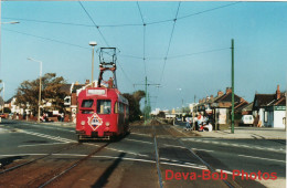 Tram Photo Blackpool Corporation Tramways Brush Railcoach Car 637 Tramcar - Trains