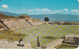 PC Mexico - Monte Albán, Oax. - View Towards The North Platform (7110) - Mexiko