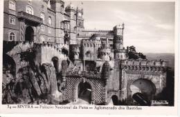 PC Sintra - Palacio Nacional Da Pena - Aglomerado Dos Bastioes (7119) - Portugal