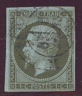 France Yvert 11a TB Sans Défaut Cote EUR 100 - 1853-1860 Napoléon III