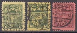 Latvia    Scott No.  155-57     Used  Year   1931 - Lettland