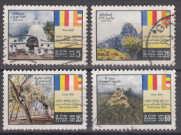 Ceylon   Scott No.   400-03     Used     Year   1967 - Sri Lanka (Ceylan) (1948-...)