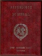 Y0008 SENEGAL 1974, Senegal Post Presentation Book At 1974 UPU Congress, Lausanne - Senegal (1960-...)