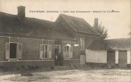 FAVIERES  -  80  -  Café Des Chasseurs - Marais De Favières - France