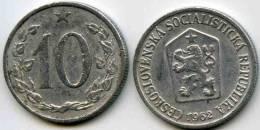 Tchécoslovaquie Czechoslovakia 10 Haleru 1962 KM 49.1 - Tschechoslowakei