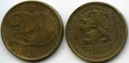 Tchécoslovaquie Czechoslovakia 20 Haleru 1973 KM 74 - Czechoslovakia