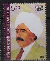 2013 India - Personalities - Mr. Ruchi Ram Sahni   -1v   - Paper - MNH** - Neufs