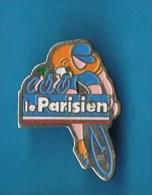 PIN´S //    .  LE PARISIEN TOUR DE FRANCE . (Winner) - Cycling