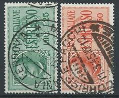 1932-33 REGNO USATO ESPRESSI 2 VALORI - ED602-2 - Eilsendung (Eilpost)
