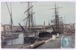 Nice (06 Alpes Maritimes), Le Port, Carte Postale Ancienne. - Navigazione – Porto