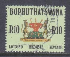 Bophuthatswana: 1988 Revenue Stamp - R10.00, Used - Bophuthatswana