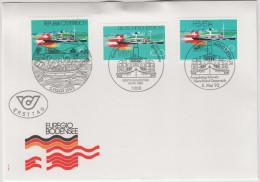 GERMANIA - GERMANY - ALLEMANDE - 1993 - Euregio Bodenseet - FDC - Gemeinschaftsausgaben