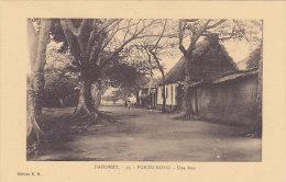 Dahomey - Porto Novo - Une Rue - Dahomey
