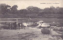 Dahomey - A.O.F. Un Chantier (animée) - Dahomey