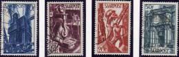 Bergbau Und Berufe 1948 Saarland 239/251 O 13€ Saargebiet Fabrik Beruf In Der Technik Bergmann Helm Saar Set Of Germany - Unclassified