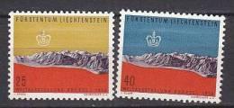 PGL AE498 - LIECHTENSTEIN Yv N°331/32 ** - Liechtenstein