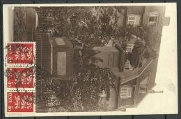 ESTLAND ESTONIA Estonie 1930 Ansichtskarte Tartu Dorpat Barclay De Tolly Monument Sent To USA - Estonie