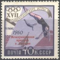 ROSSIA - USSR  - OLYMPIC  ROME - SWIMING - RICCIONE  - **MNH - 1960 - Philatelic Exhibitions