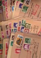 Berlin 50 Originale Postbelege O 100€ Verschiedene Archiv Frankaturen Erhaltung Unterschiedlich Brief-Stücke Of Germany - Stamps